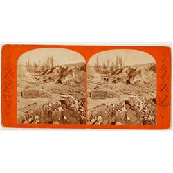 Hydraulic Mining Stereoview  57473