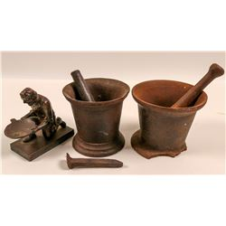 Mortar & Pestle (2) &  1848 Cal. Centennial, James Marshall  109489