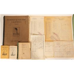 Oil Industry Archive/ California/ 8 Items.  109678