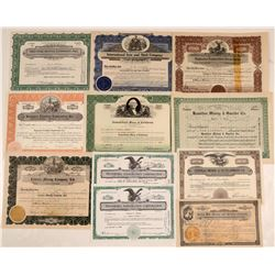 Post 1920 California Mining Stock Certificate Collection  105890