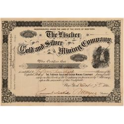 Fischer Gold & Silver Mining Company Stock Certificate  106949