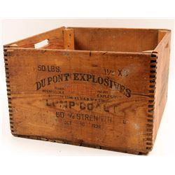 Dynamite  Box / DuPont Explosives  106285