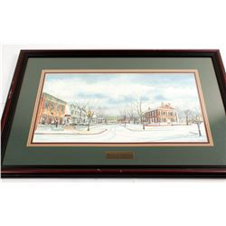 Spring & Winter in Dahlonega Signed Prints by Brewer  55127