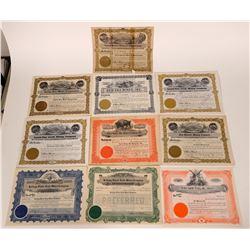Kellogg, Idaho Mining Stock Certificate Collection  107561