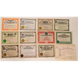 Idaho Mining Stock Certificate Collection  107477