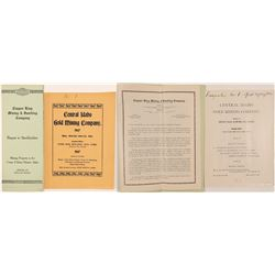 Mining Prospectus's / Idaho / 2 Items.  109654