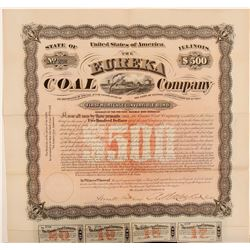 Eureka Coal Company Bond  106967