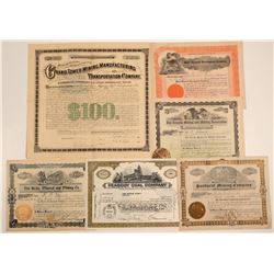 Midwest US Mining Stock Certificate Group  106768