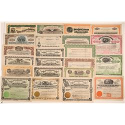 Butte, Montana Mining Stock Certificate Collection  106738