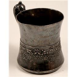 Lump Gulch Western Federation of Miners Quadruple Silver Plate Mug  105835