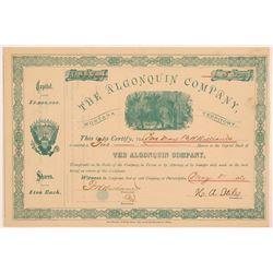 Algonquin Company Stock  109537