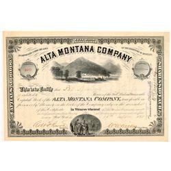 Alta Montana Co. Stock  109538