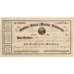 Grand Prize Mining Co. Stock Possibly Issued to Dan DeQuille  107435