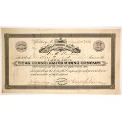 Titus Consolidated Mining Co.  86514