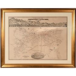 Comstock Mines & Sutro Tunnel / W. Rose's Revised Chart.l  109641