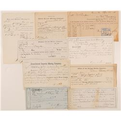 Comstock Mining Assessments /  9 Items.  109642
