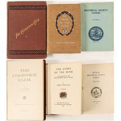 Nevada Mining History Books (3)  60812