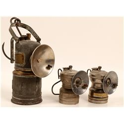 Carbide Miners Lamps / 2 Items  106293