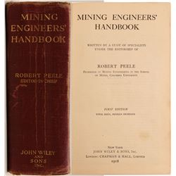 Mining Engineer's Handbook / By Robert  Peele.  109628