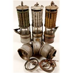 Miners Safety Lamps /  4 Items.  109584
