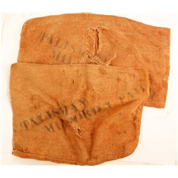 Talisman Mining Burlap Sacks (2)  87343