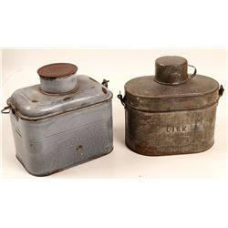 Miners Lunch Boxes / 2 Items  106281