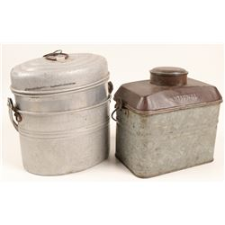 Miners Lunch Boxes / 2 Items  106280