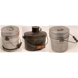 Miners Lunch Boxes / 3 Items  106282