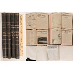 Salt Lake Mining Review 5 Volumes  86443