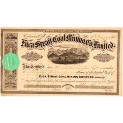 Fuca Strait Coal Mining Company, Ltd. Stock Certificate  106982