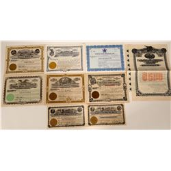 Washington Non-Gold Mining Stock Certificates  107577