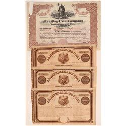 Cuba Mining Stock Certificates & Bonds  106776