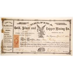 Delfina Silver and Copper Mining Stock  90565