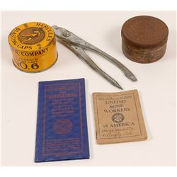 Blasting Cap Tins / & Union Books  / 5 Items  106296