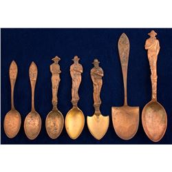 Copper Mining Spoons (7)  56706