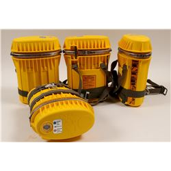Mine Rescue Oxygen Breathing Apparatus (4)  108028