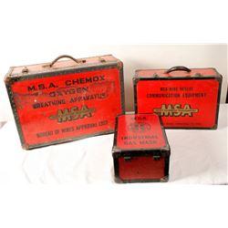 MSA Mine Rescue Kits  84856