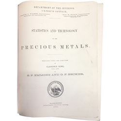Statistics and Technology of the Precious Metals  86649