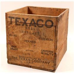 Texaco Wood Box, Purple Bottle, Tin Box, Mine Numbers  108201