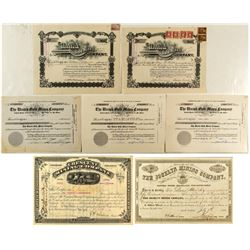 Western Mining Stock Certificates  571608