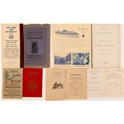Fireman's Convention Brochures / 4 Items.  109644