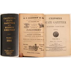 Polk's California State Gazetteer and Business Directory Volume 1, Oakland Police Department  108486