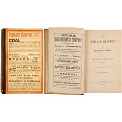 The Portland Directory and Reference Book, 1871  82806
