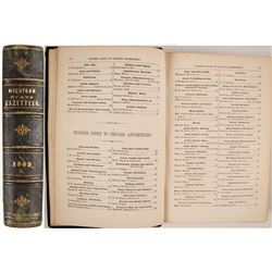 Michigan State Gazetteer and Business Directory for 1863--4  82832