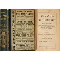 Directory / St.Paul , Minnesota  89566