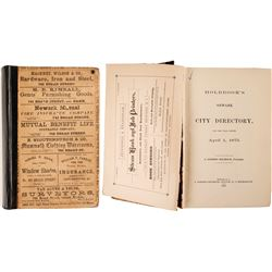 Holbrook's New York City Directory, 1875  82855