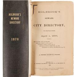 Holbrook's Newark City Directory, 1878  82854