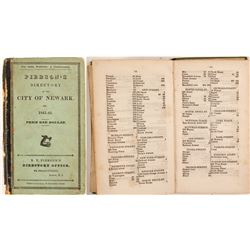 Pierson's Newark City Directory for 1841-2  82850