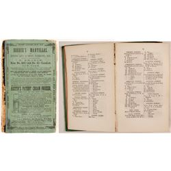 Pierson's Newark City Directory for 1857-8, v23  82849