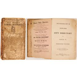 Pierson's Newark City Directory for 1864-5, v30  82846